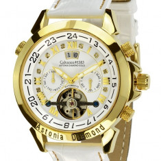 Calvaneo 1583 Astonia Snow Diamond Gold - Ceas barbatesc Calvaneo, Mecanic-Automatic