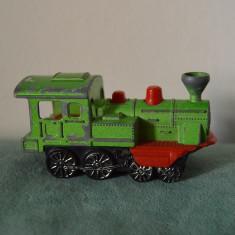 Macheta locomotiva tren / trenulet metal Majorette, Western 1/87, Made in France - Macheta auto