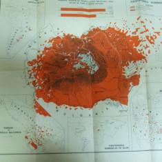 Romanii din tara si de peste hotare harta etnografica 1941 - Harta Romaniei