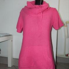 Rochie bluza colanti, tricotaj, S-M, Fishbone, New Yorker. COMANDA MINIMA 30 LEI - Rochie tricotate, Culoare: Roz, Marime: M/L, Midi, Scurta, Acril