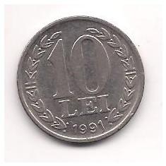No(4) moneda- ROMANIA- 10 Lei 1991, An: 1944