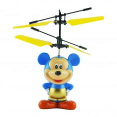 ELICOPTER RADIOCOMANDAT MICKEY MOUSE CU SENZOR DE MISCARE ,CADOU MINUNAT.