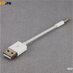 Cablu date si incarcator iPod Shuffle Generatia 2 3 4