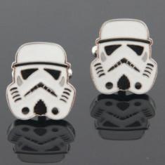 Butoni camasa model STAR WARS Stormtrooper + cutie simpla cadou