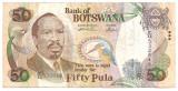 BOTSWANA 50 PULA ND(2000) F