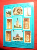 Ilustrata dubla - Alba Iulia - Monumente, Circulata, Printata