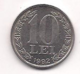 No(4) moneda- ROMANIA- 10 Lei 1992
