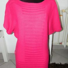 Rochie, rochita, bluza colanti, tricotaj, M-L, stil fluture. COMANDA MINIMA 30! - Rochie tricotate, Culoare: Ciclam, Midi, Kimono, Acril