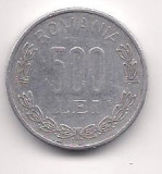 No(4) moneda- ROMANIA- 500 Lei 1999
