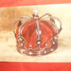 Ilustrata - Coroana de Otel a Romaniei 1881 a Regelui Carol I - Carte Postala Muntenia dupa 1918, Necirculata, Fotografie