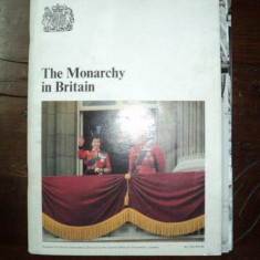MONARHIA BRITANICA, ALBUM SI 8 FOTOGRAFII ORIGINALE, 1981 - Harta Europei