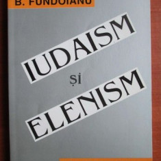 B. Fundoianu - Iudaism si elenism - Carti Iudaism