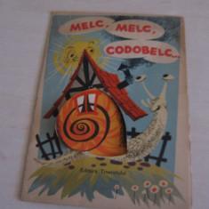 MELC, MELC CODOBELC, 3D /// ILUSTRATA DE LIVIA RUSZ, 1966 - Carte de povesti