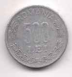 No(4) moneda- ROMANIA-500 Lei 1999