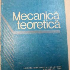 MECANICA TEORETICA, BUCURESTI 1980-CAIUS IACOB - Carti Mecanica