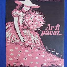 PARTITURA R.P.R. - AR FI PACAT... * MUZICA ION VASILESCU