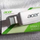 Adaptor wi-fi ACER WIRELESS model MWA2 MHL HDMI Miracast