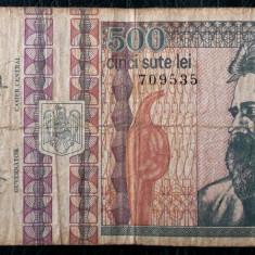 ROMANIA 500 LEI 1992 sr 709535 ** - Bancnota romaneasca