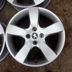 JANTE ORIGINALE PEUGEOT 17 4X108 - Janta aliaj Peugeot, 6, 5, Numar prezoane: 4