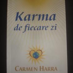 CARMEN HARRA - KARMA DE FIECARE ZI - Carte paranormal