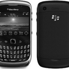 Blackberry 9300 black noi noute originale, telefon si incarcator!!PRET:330lei - Telefon mobil Blackberry 9300, Negru, 1 GB