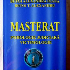 MASTERAT PSIHOLOGIE JUDICIARA VICTIMOLOGIE. Compendiu Universitar, Col. Noua - Carte Drept penal