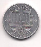 No(4) moneda- ROMANIA-10000 Lei 2001
