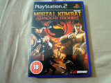 Joc Mortal Kombat Shaolin Monks PS2, original, alte sute de jocuri!, Actiune, 16+, Multiplayer