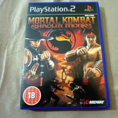 Joc Mortal Kombat Shaolin Monks PS2, original, alte sute de jocuri! - Jocuri PS2, Actiune, 16+, Multiplayer