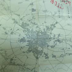 Bucuresti raioanele harta alb - negru - Harta Romaniei