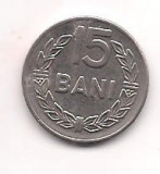 No(4) moneda- ROMANIA- 15 Bani 1966