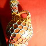 Vas vechi ceramica Sud-American-primit cadou de N.Ceausescu cu Certificat APPS