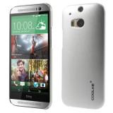 Carcasa protectie spate din plastic pentru HTC One M8 - silver