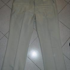 Pantaloni de stofa, marime XXL, marimea 58-60, pentru barbati, bej - Pantaloni barbati, Culoare: Crem, 2XL, Lungi, Poliester