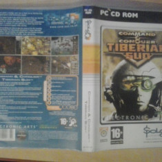 Joc PC - Command & Conquer Tiberian Sun - (GameLand - sute de jocuri) - Jocuri PC Electronic Arts, Shooting, 16+, Single player