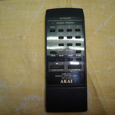 Telecomanda Akai RC-C512 cd-player - Telecomanda aparatura audio