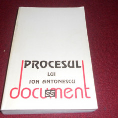 PROCESUL LUI ION ANTONESCU - Istorie