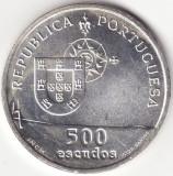 Republica Portugheza - 500 Escudos 1998 - Podul Vasco da Gama - Argint, Europa