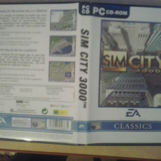 Joc PC - Sim City 3000 - EA Classics (GameLand ) - Jocuri PC Electronic Arts, Simulatoare, 12+, Single player