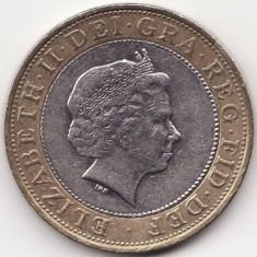 Regatul Unit al Marii Britanii si al Irlandei de Nord - 2 Pounds 2005 - An rar, Europa