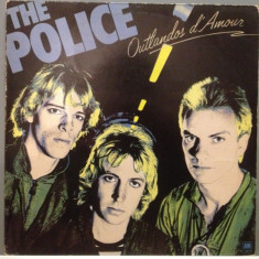 The Police - Outlandos D'Amour (1978 / A & M Rec / Holland) - Vinil/Vinyl, universal records