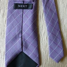Cravata Next, 100% matase; 150 cm lungime; impecabila, ca noua, Culoare: Din imagine
