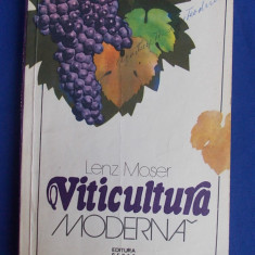 LENZ MOSER - VITICULTURA MODERNA ( TRADUCERE DIN GERMANA ) - 1980