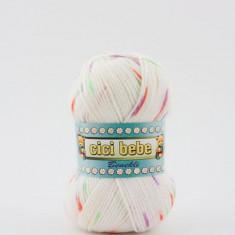 Fir crosetat / tricotat Cicibebe Benekli 99-15 - Fir tricotat si crosetat
