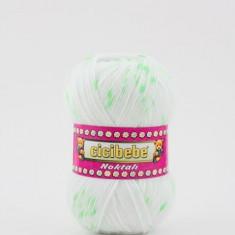Fir crosetat / tricotat Cicibebe Noktali 33-08 - Fir tricotat si crosetat