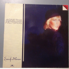 AGNETHA FALTSKOG (ex ABBA) - EYES OF A WOMAN (1985 /POLYDOR / RFG) - VINIL/VINYL - Muzica Pop universal records