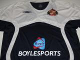 Tricou fotbal - SUNDERLAND AFC (Anglia) - produs oficial, XL, Negru, De club