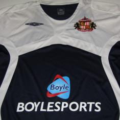 Tricou fotbal - SUNDERLAND AFC (Anglia) - produs oficial - Tricou echipa fotbal, Marime: XL, Culoare: Negru, De club, Maneca scurta