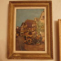 Pictura ulei inramata, Peisaje, Realism