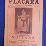 REVISTA FLACARA * ANUL V - NR.9 - 12 DECEMBRIE 1915 ( NOTTARA )